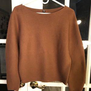 Uniqlo Knit Sweater in Camel